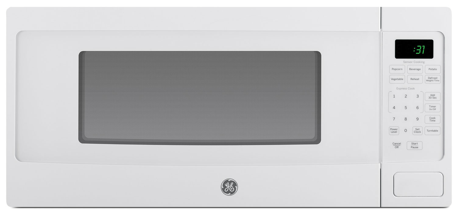 ... Products - GE Spacemaker 1.1 Cu. Ft. Countertop Microwave ? PEM10WFC