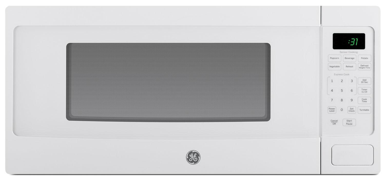 Four à micro-ondes de comptoir GE SpacemakerMC de 1,1 pi3 – PEM10WFC