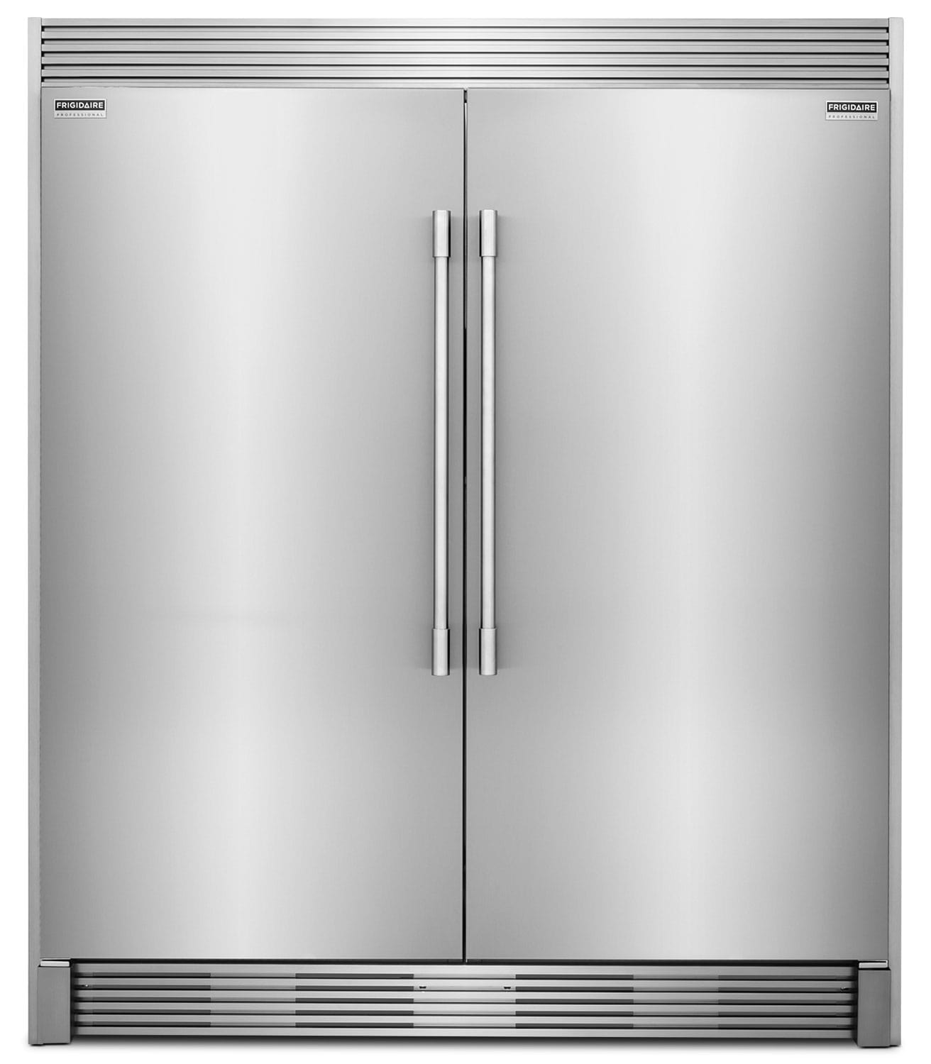 Frigidaire Professional 19 Cu. Ft. Refrigerator, 19 Cu. Ft. Freezer and Trim Kit Package