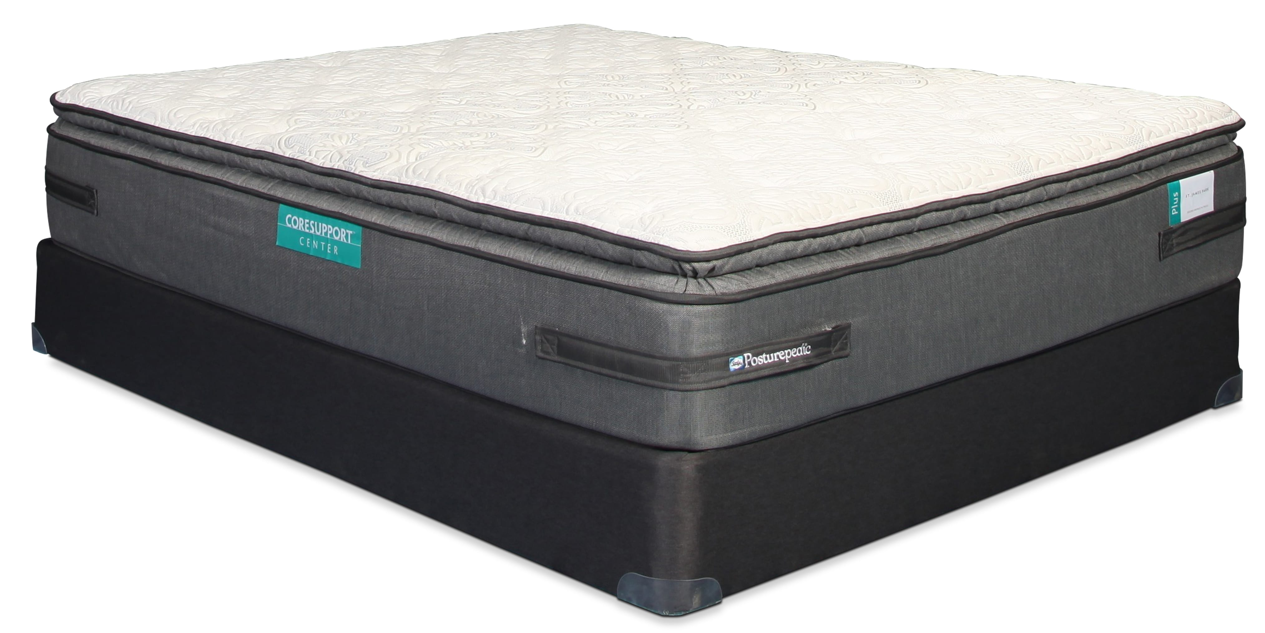 Sealy St. James Park Pillow Top Full Mattress and Boxspring