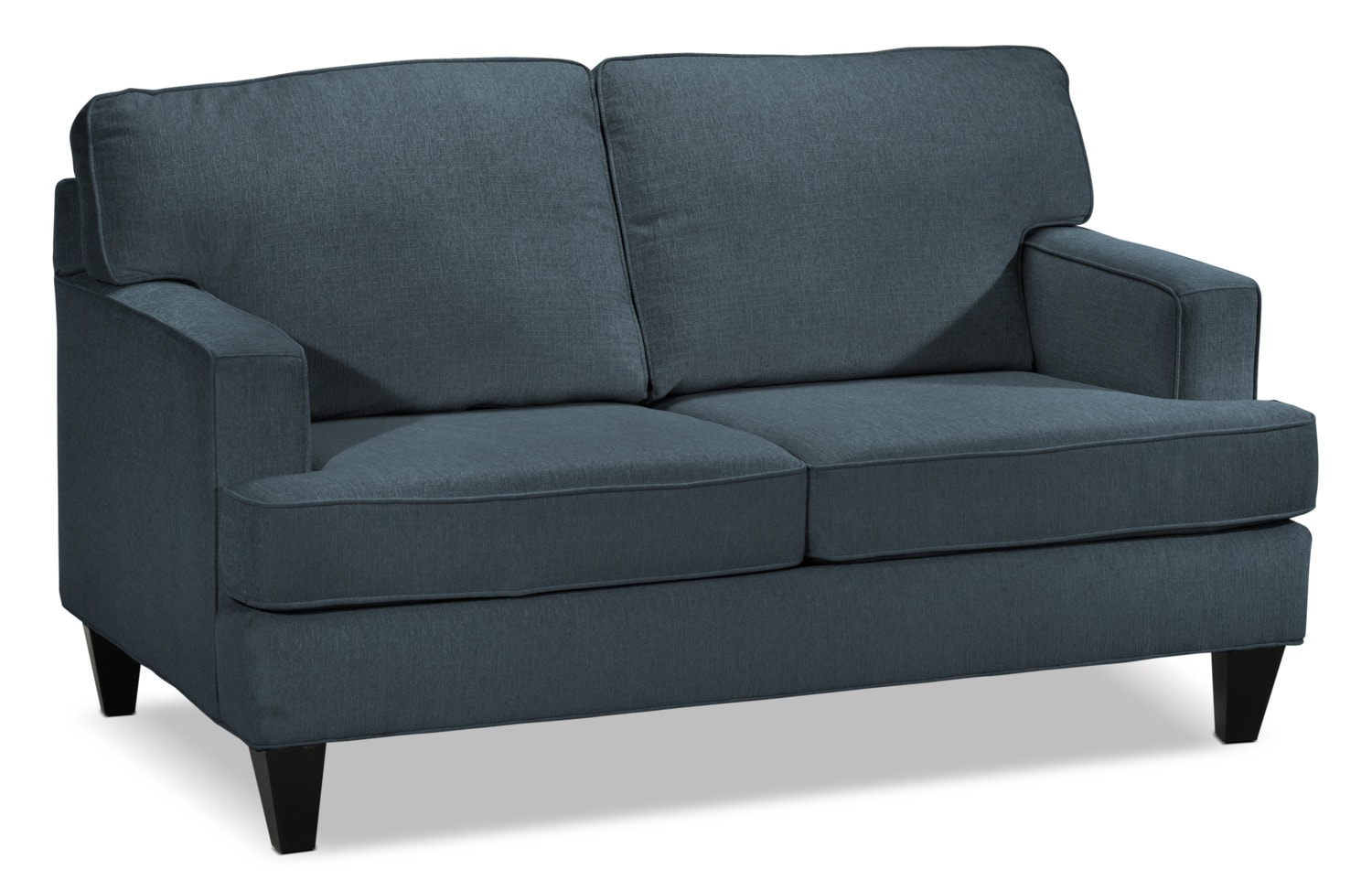 Capella loveseat denim leon 39 s Denim loveseat