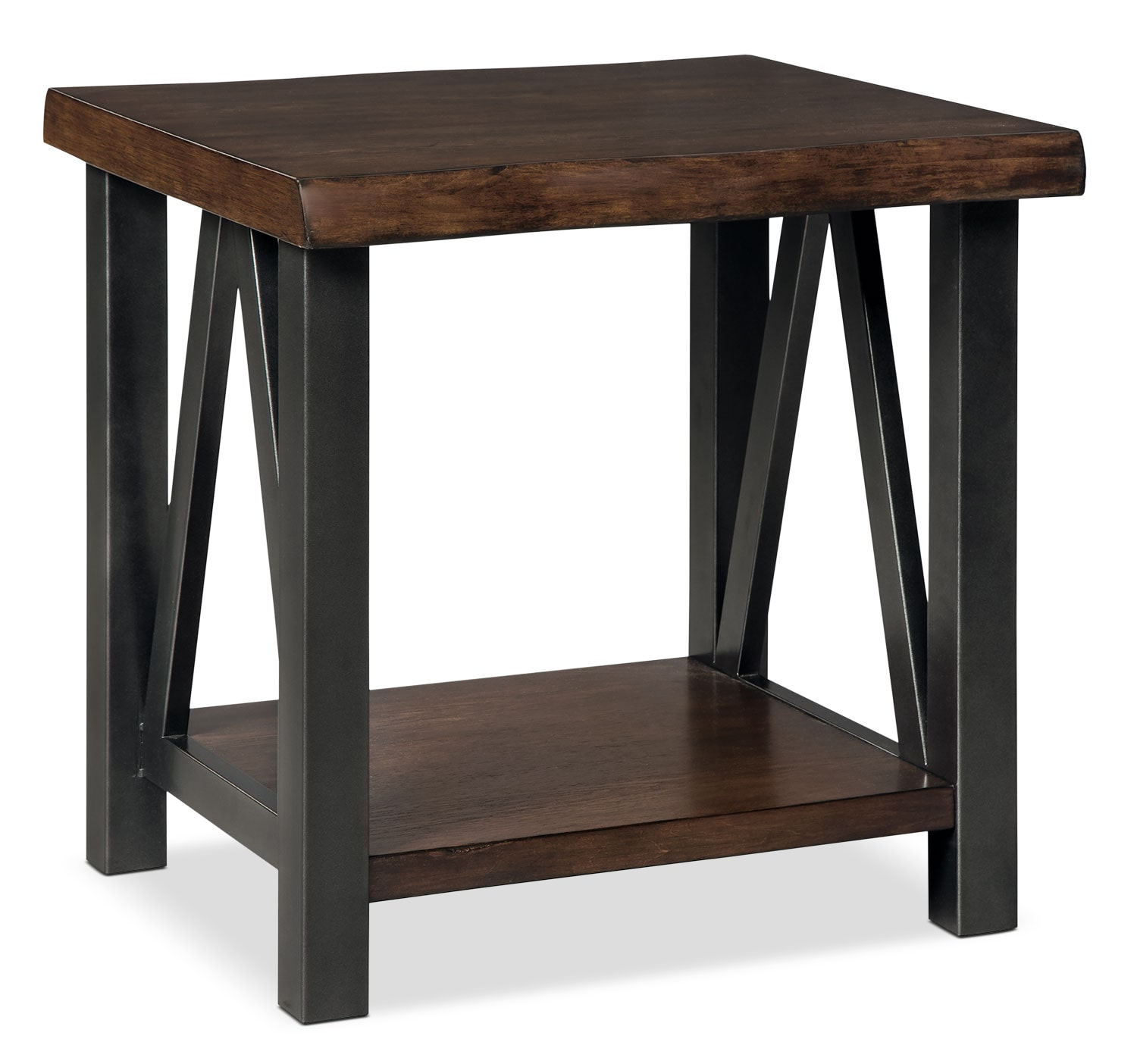 Esmarina end table the brick for Occasional tables