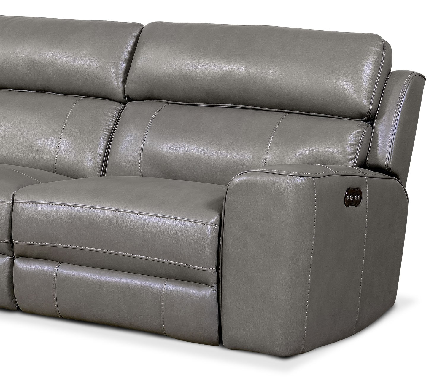 Newport 3 piece power reclining sectional with left facing for 3 piece sectional with chaise