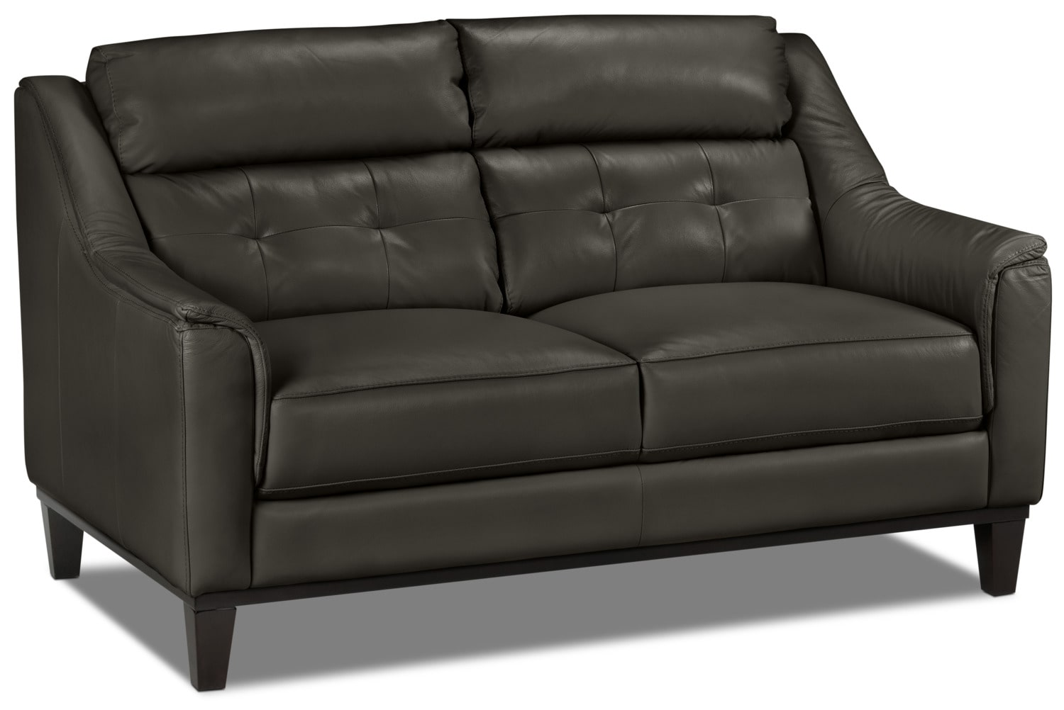 Linda Loveseat Charcoal Leon 39 S