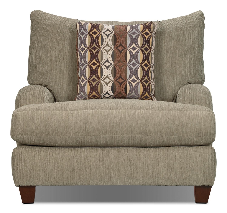 Putty Chenille Chair Beige The Brick