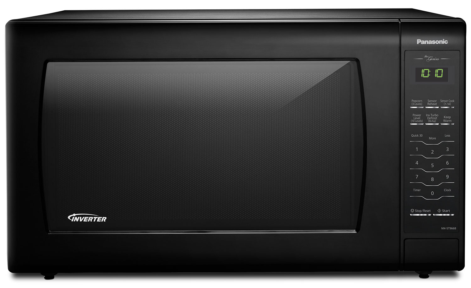 Panasonic Genius® 2.2 Cu. Ft. Inverter® Countertop Microwave – NN-ST966B