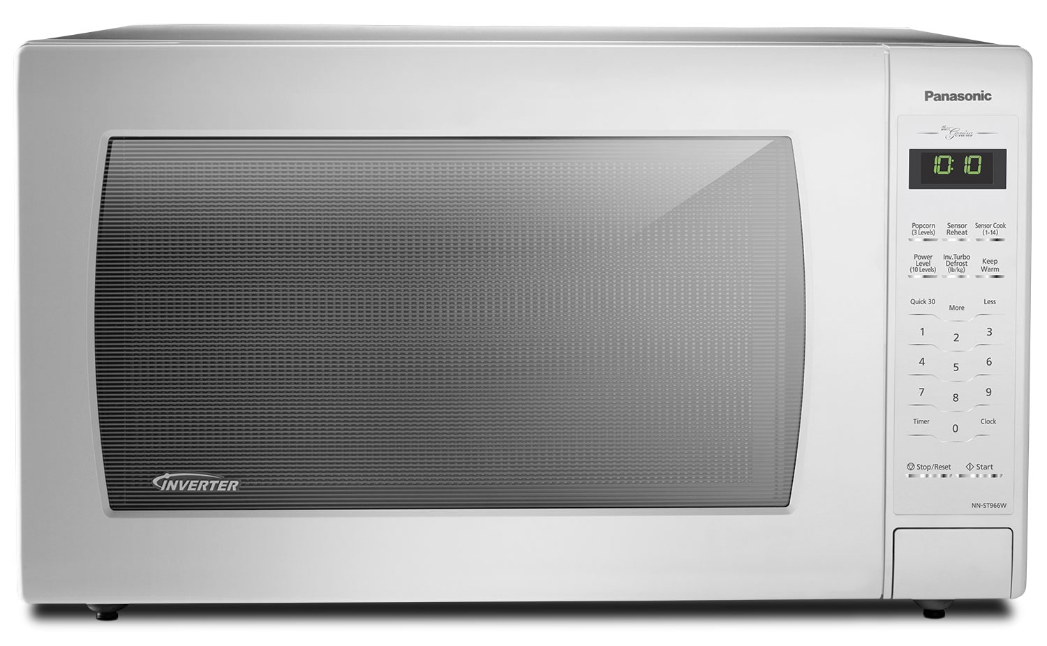 Panasonic Genius® 2.2 Cu. Ft. Inverter® Countertop Microwave – NN-ST966W