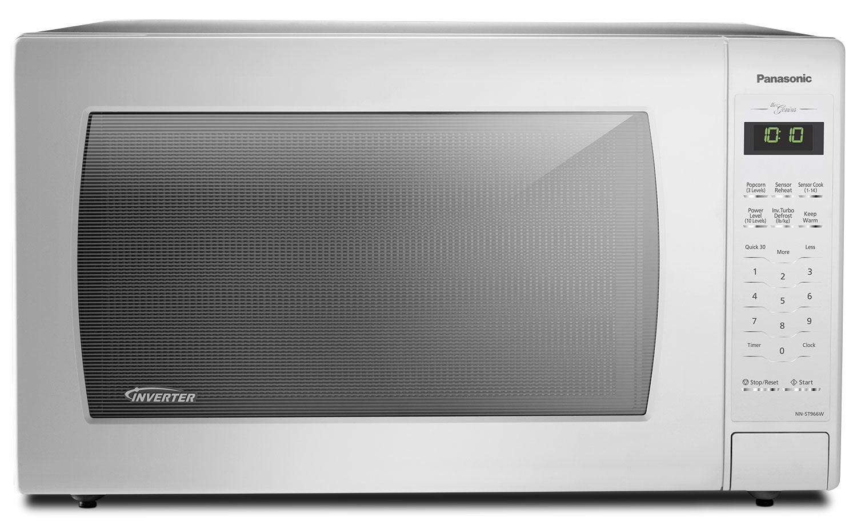 Panasonic Genius® 2.2 Cu. Ft. Inverter® Countertop Microwave – NN-ST966W