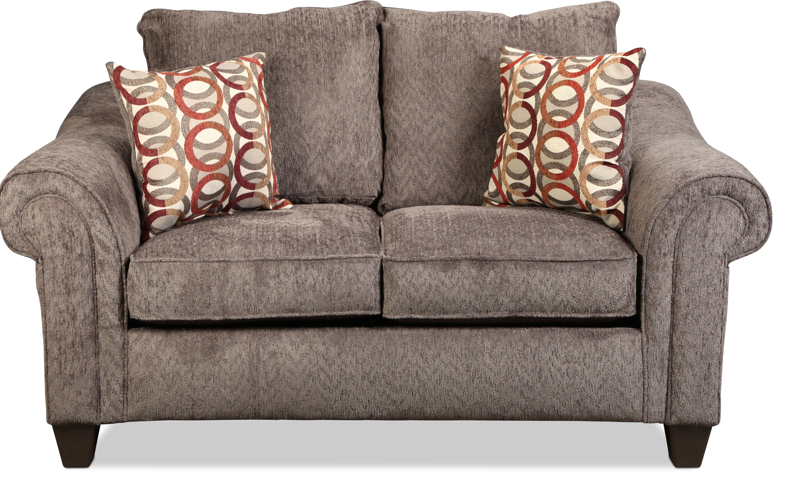 Connor Loveseat - Charcoal