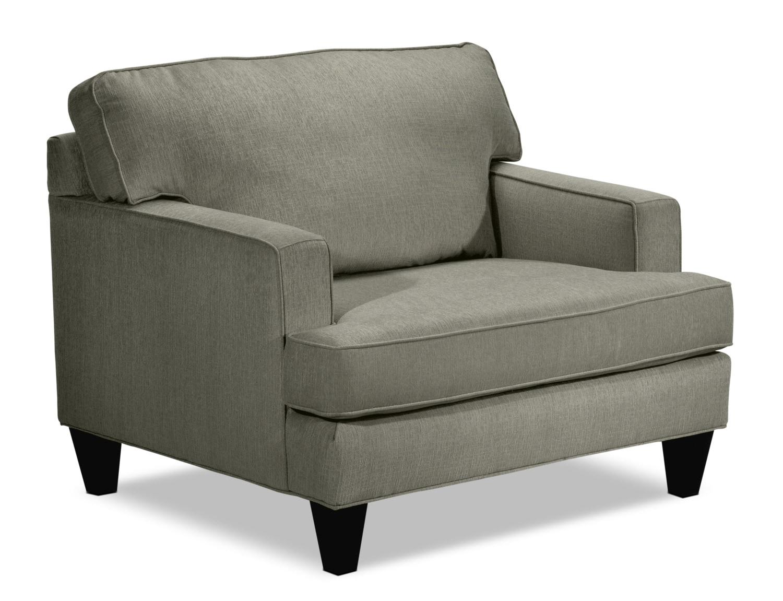 Capella Chair and a Half - Dark Stone