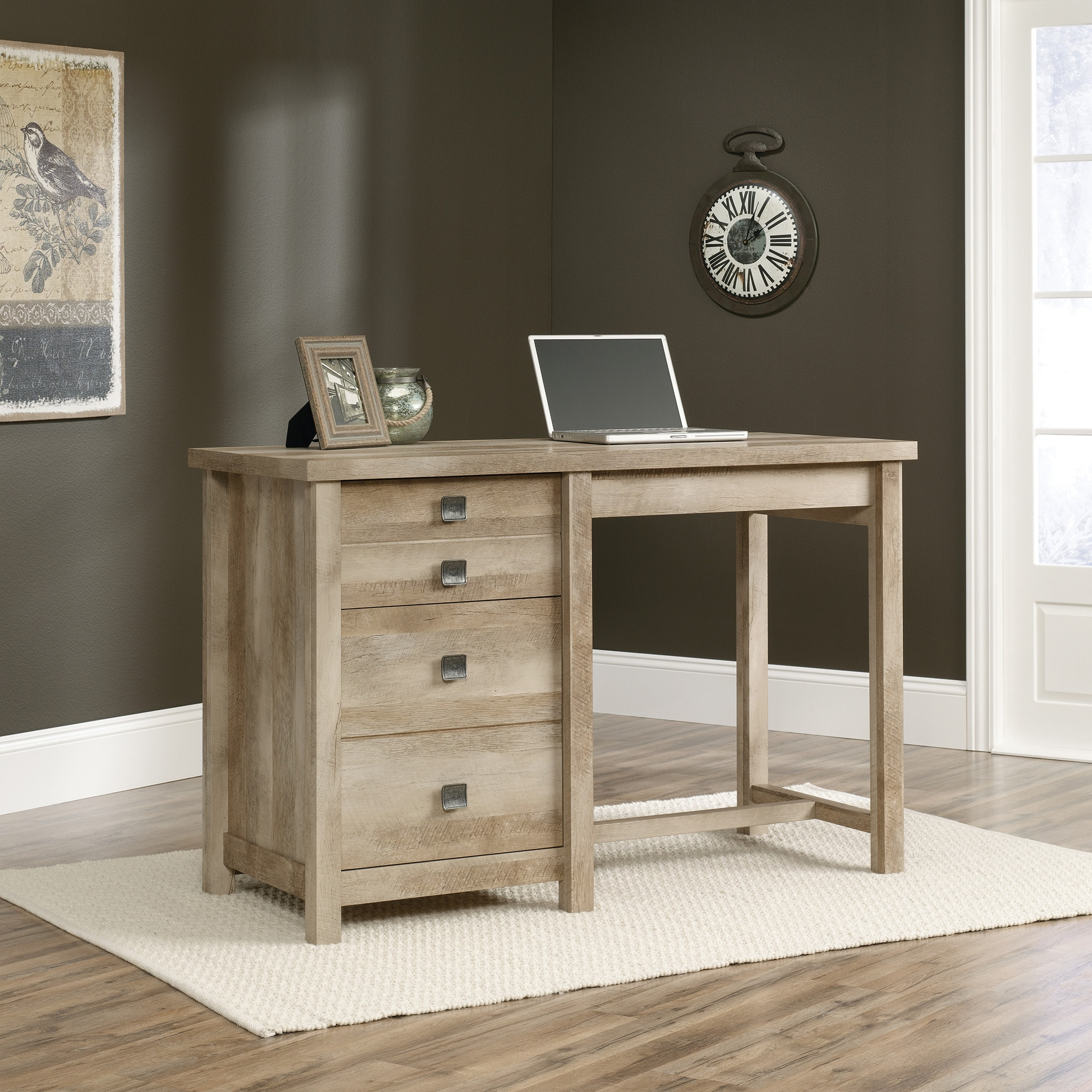 Cannery Bridge Work Table - Lintel Oak