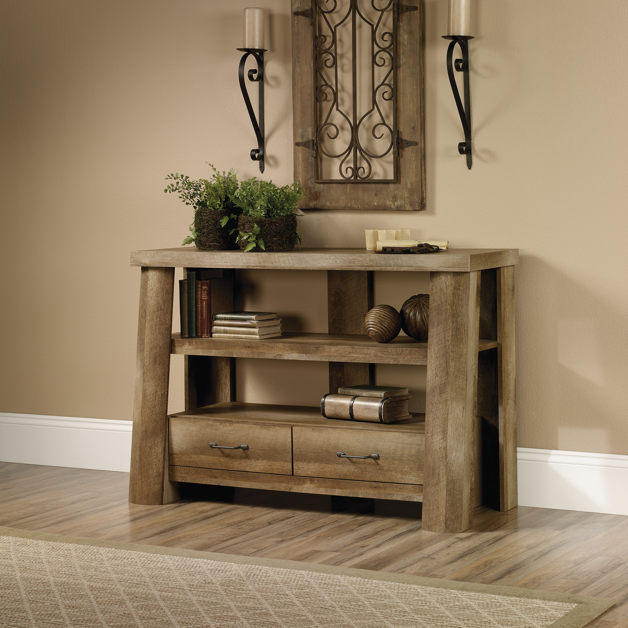 Boone Mountain Anywhere Console - Craftsman Oak