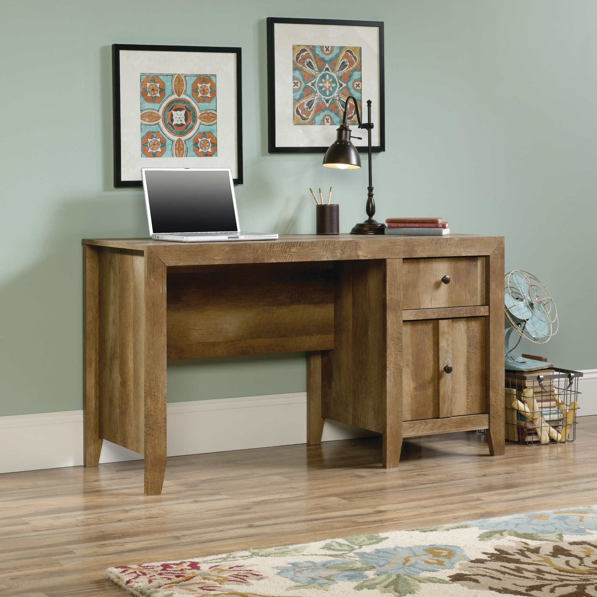Dakota Pass Desk - Craftsman Oak