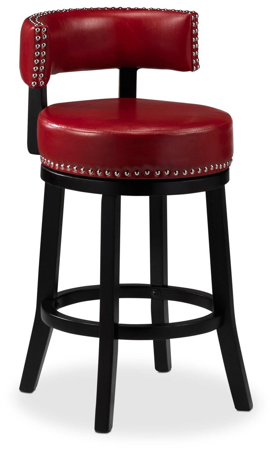 "Houston 24"" Barstool - Red"