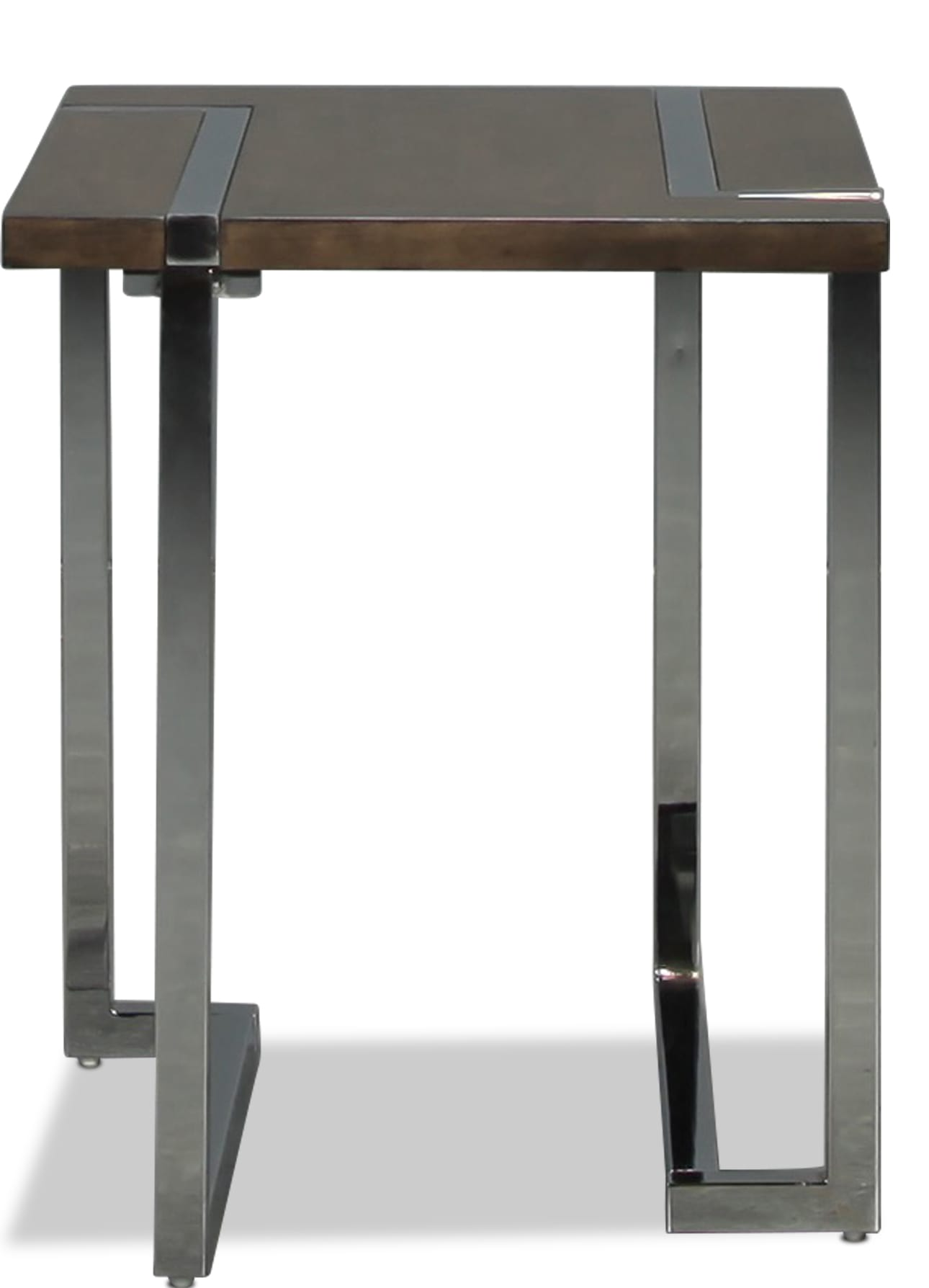 Kieran End Table - Charcoal