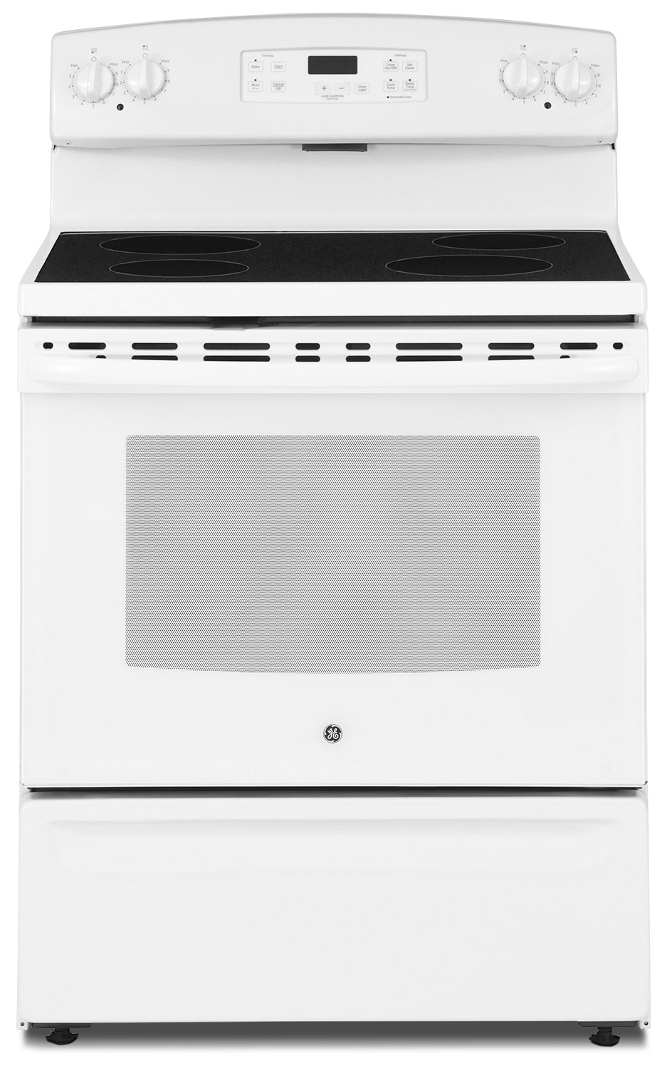 GE 5.0 Cu. Ft. Freestanding Electric Range – JCBS630DJWW