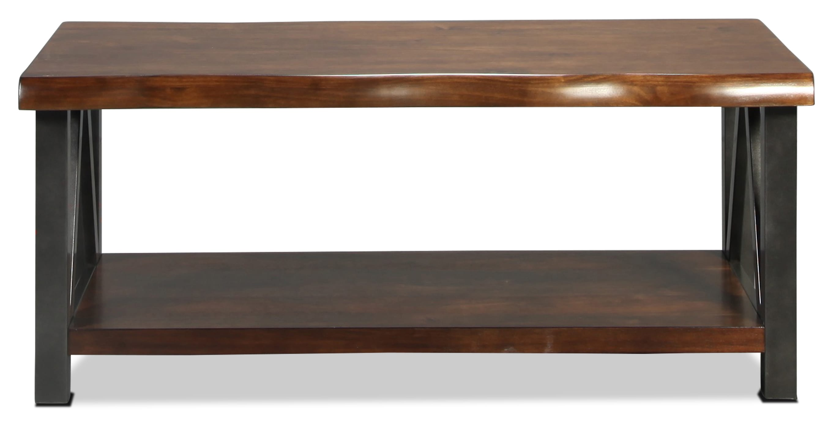 Ezra Cocktail Table - Walnut