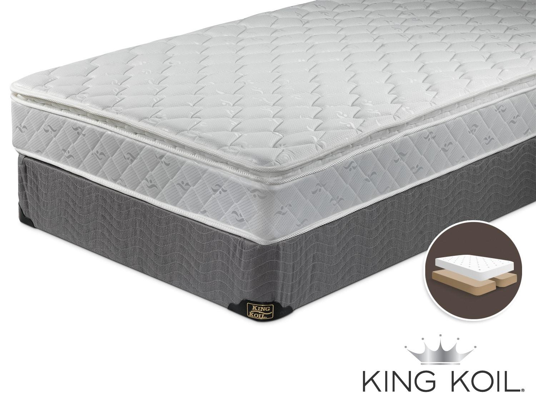 King Koil Majic Nights Cushion Firm King Mattress and Boxspring Set