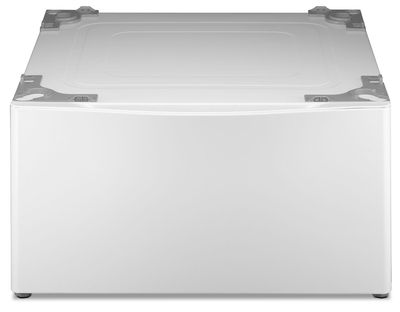 "Appliance Accessories - LG 15"" H Laundry Pedestal w/Storage Drawer – White"