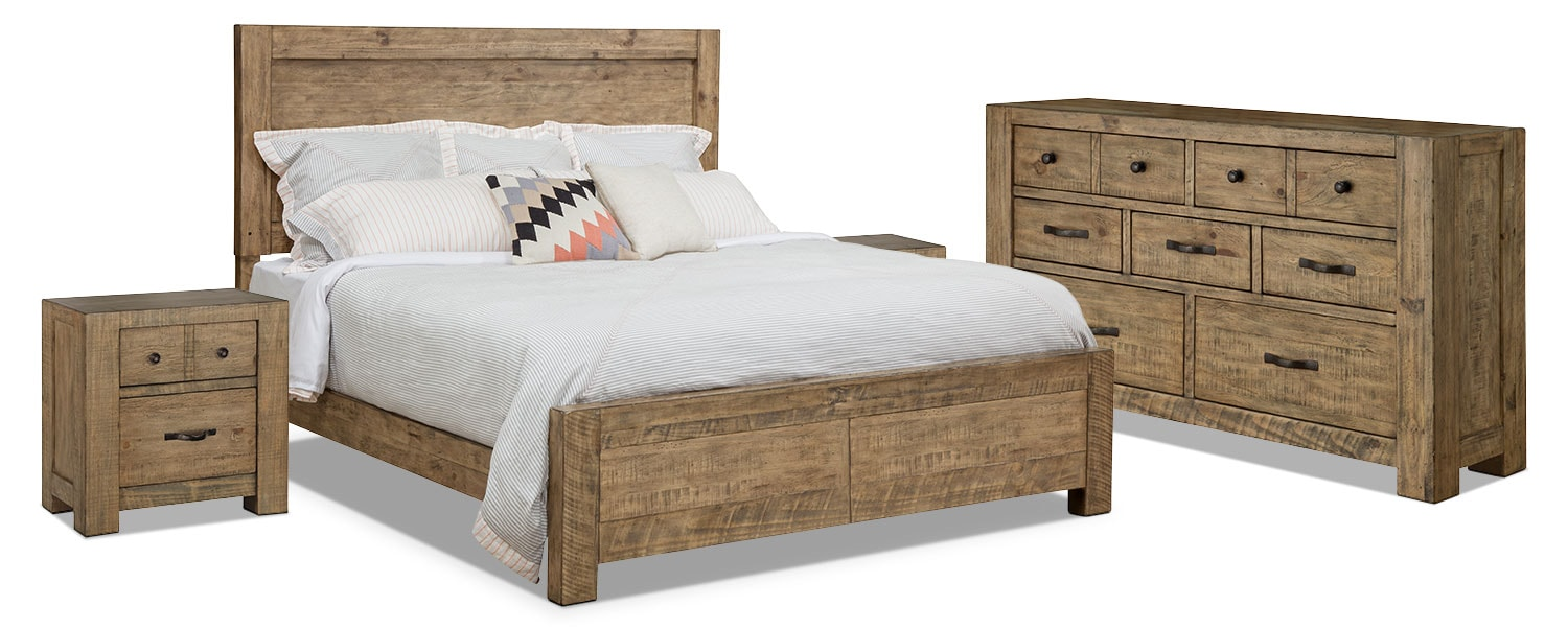 Griffith 6-Piece King Storage Bedroom Package – 2 Nightstands