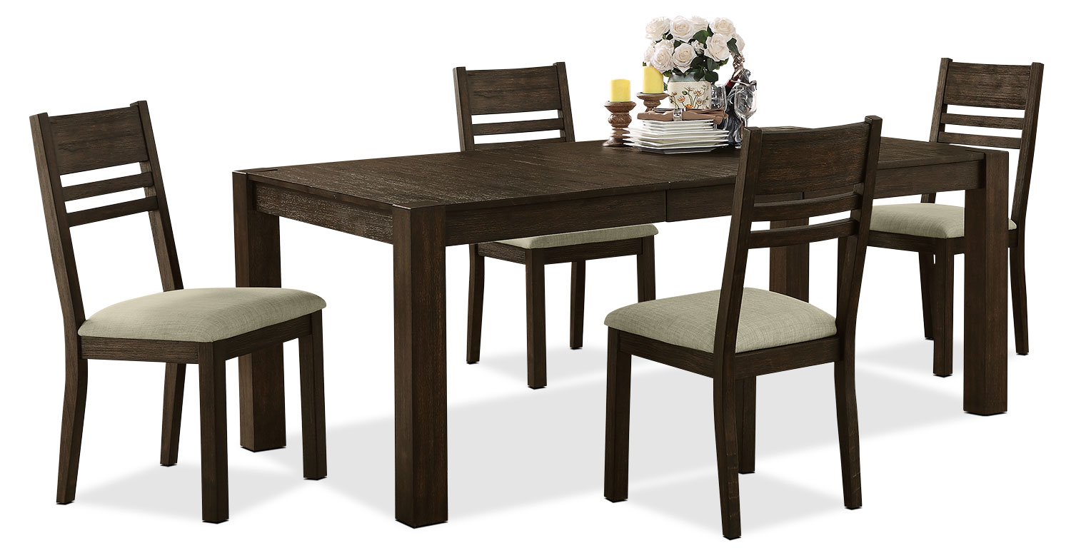 Dining Room Furniture - Jade 5-Piece Dining Package