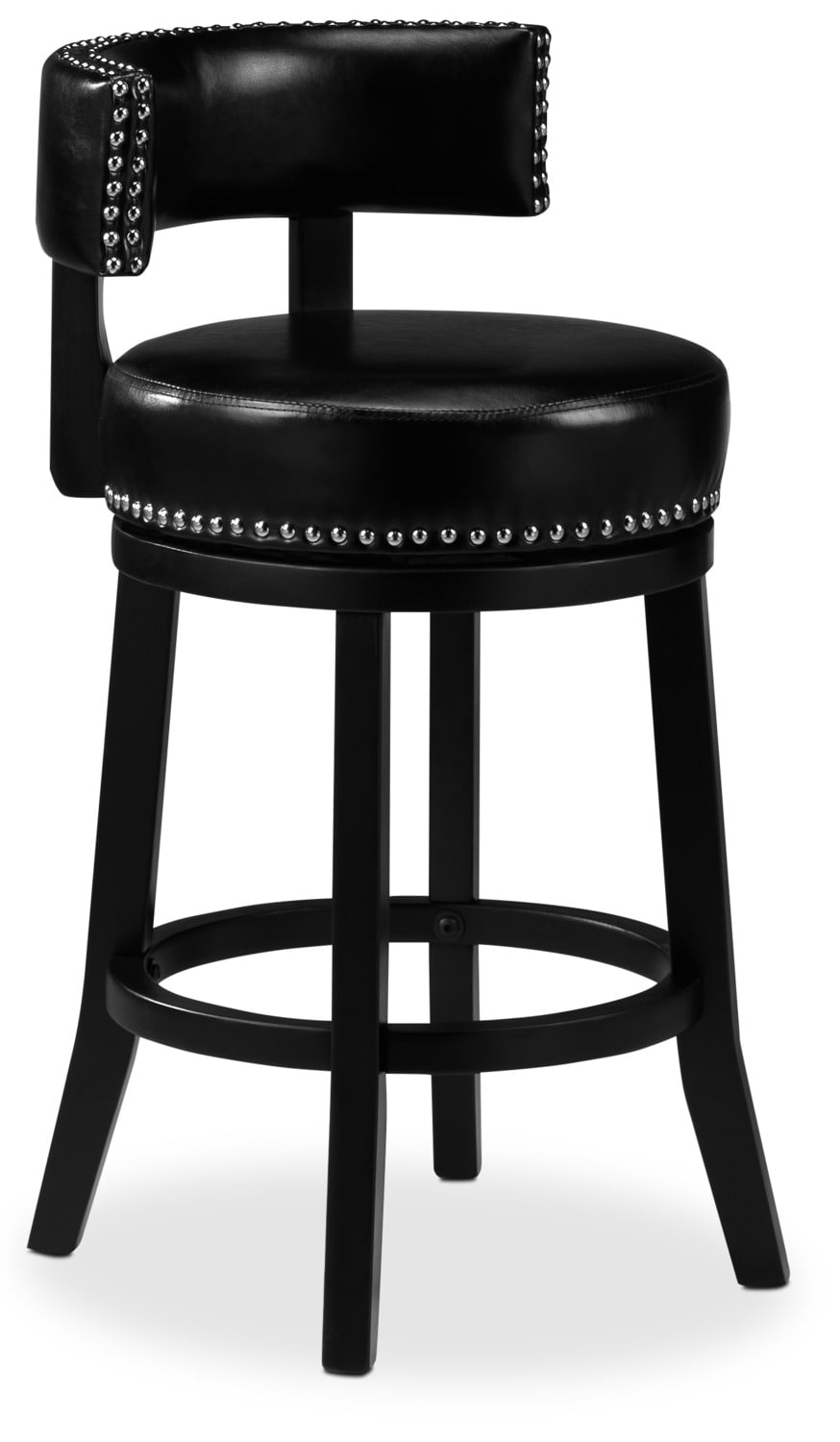 "Houston 24"" Barstool - Black"