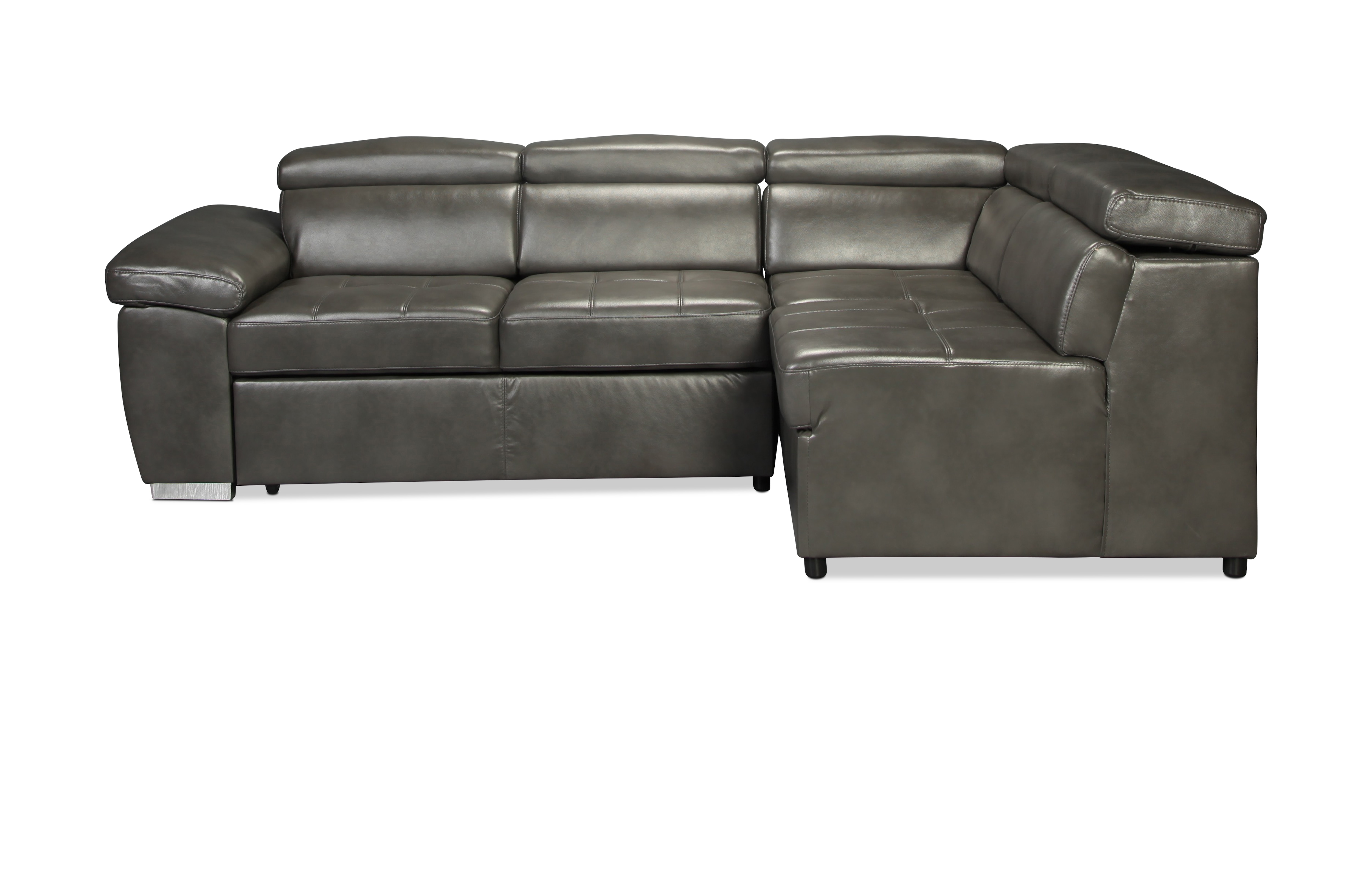 Amedea 2 Piece Sectional - Graphite