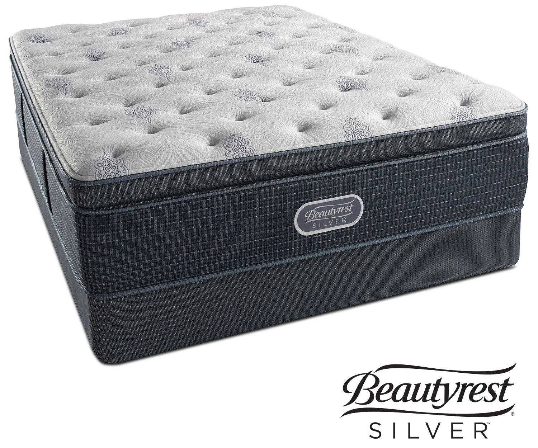 Crystal Ridge Plush Pillowtop Full Mattress and Foundation