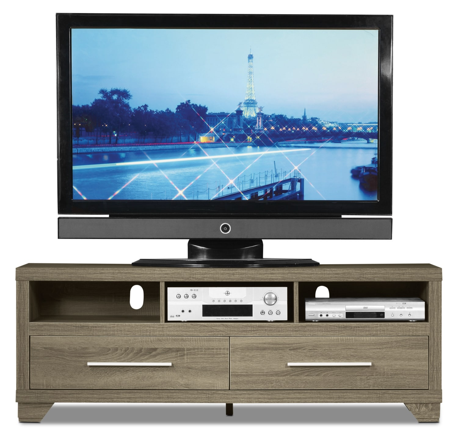 Glendale 60 Quot Tv Stand Grey The Brick