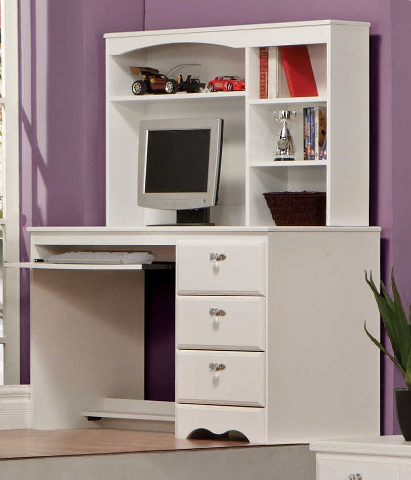 Kids Furniture - Diamond Dreams Desk w/Hutch