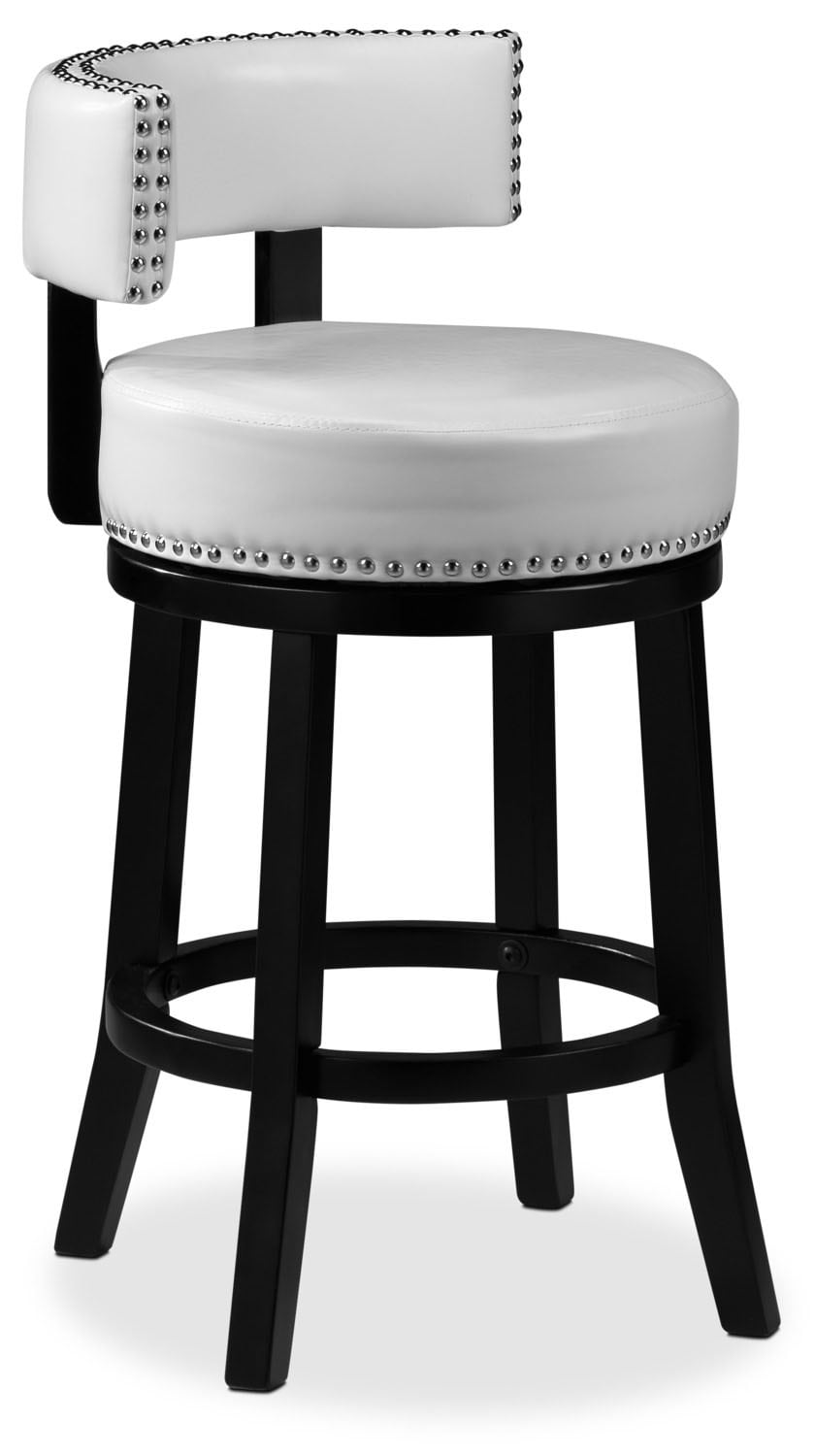 "Houston 24"" Barstool - White"