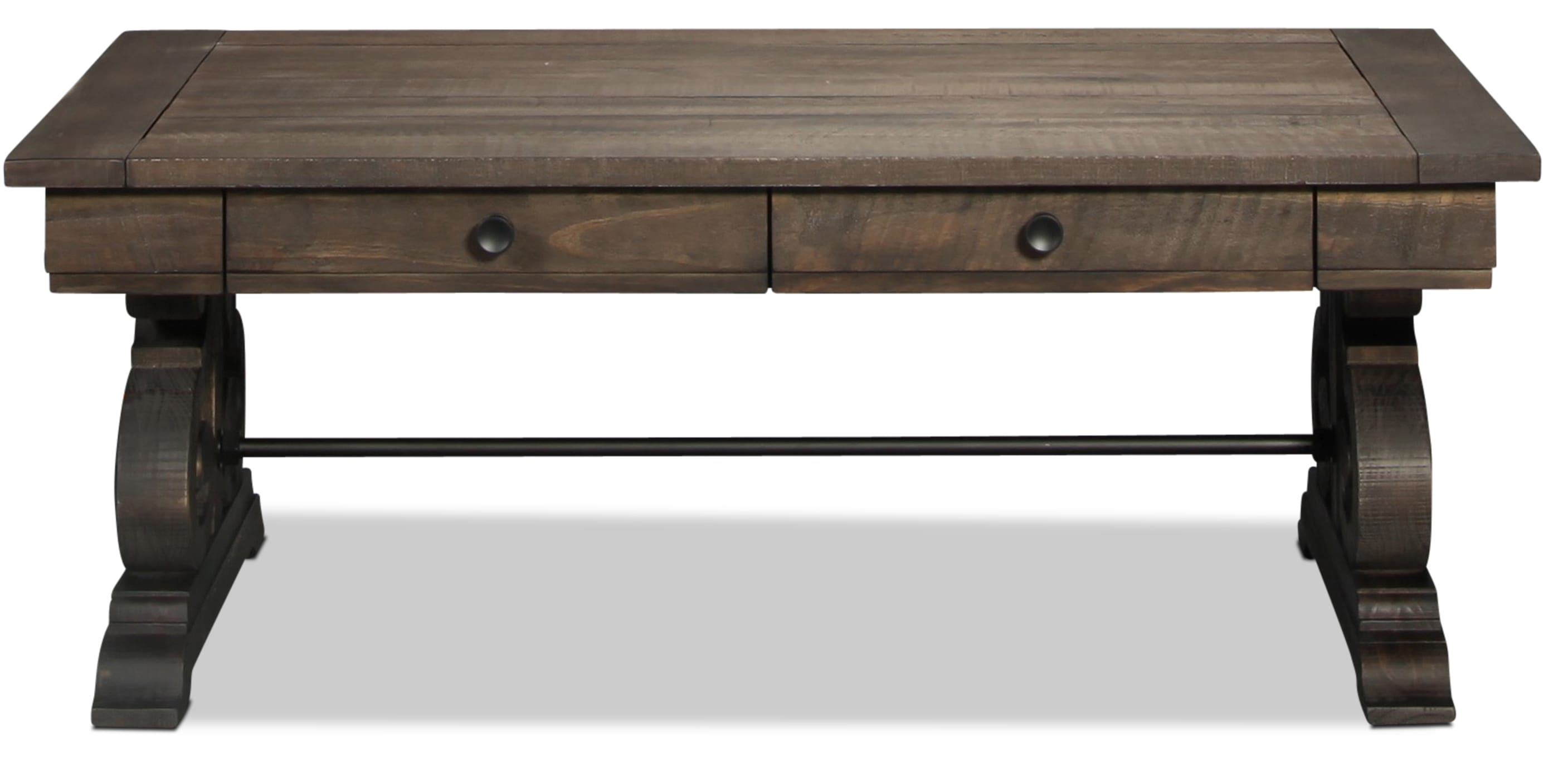 Bellamy Coffee Table - Weathered Pine