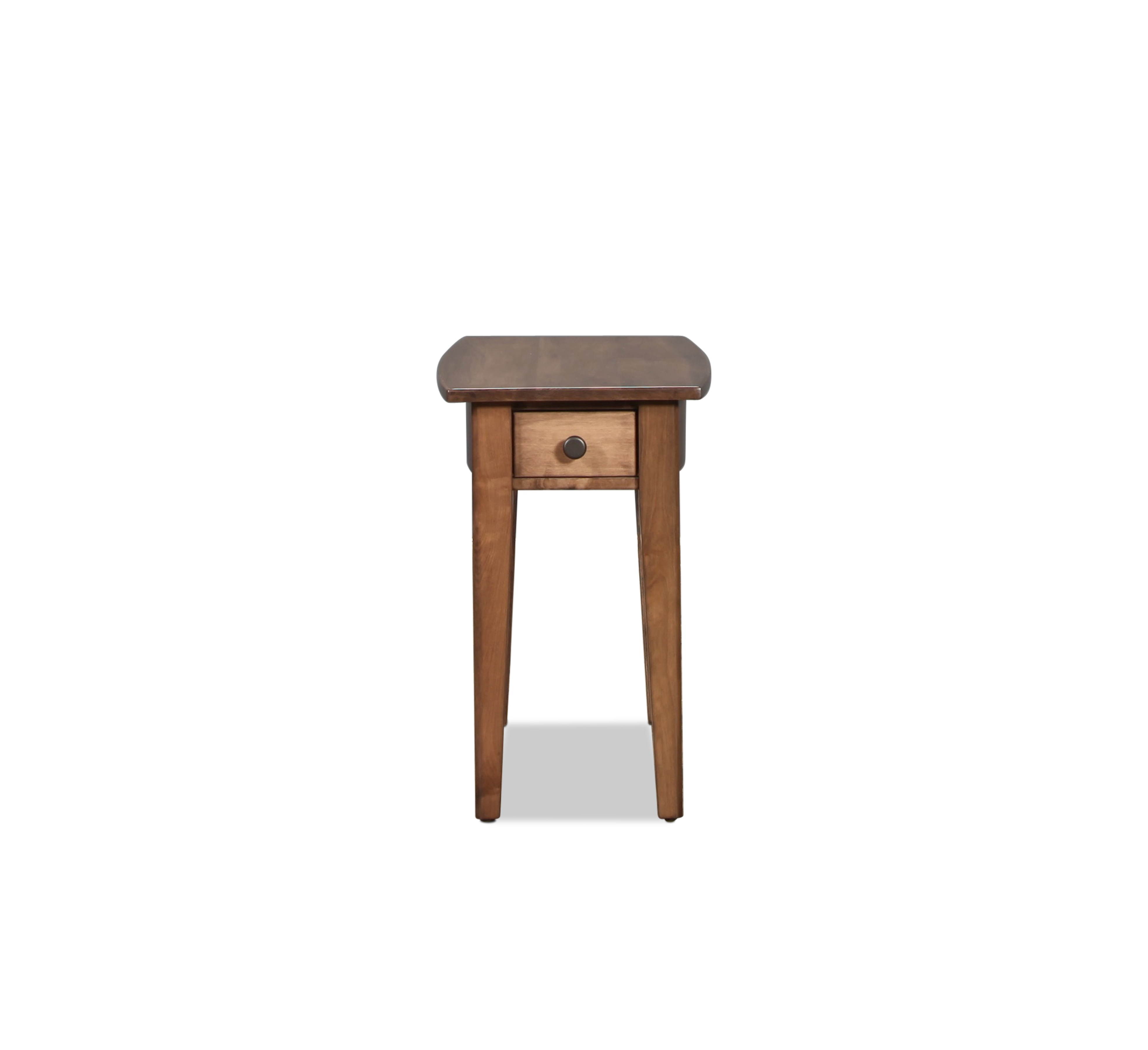 Accent and Occasional Furniture - Apple Creek Chairside Table - Driftwood