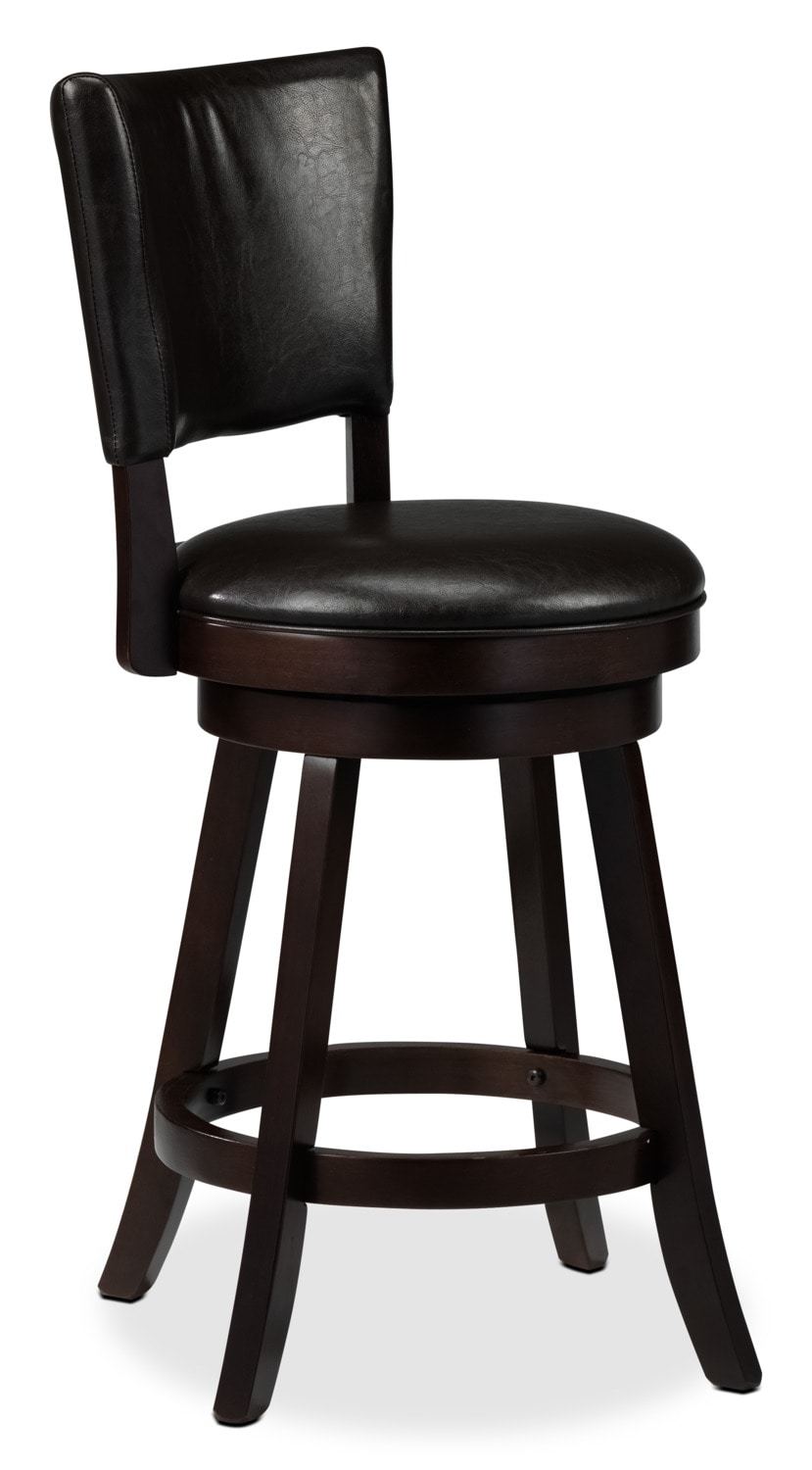 "Alfa 24"" Barstool - Brown"