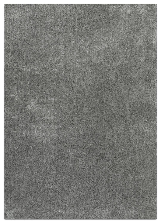 Décoratif et Occasionnel - Daisy Tapis (5 pi X 8 pi) - gris