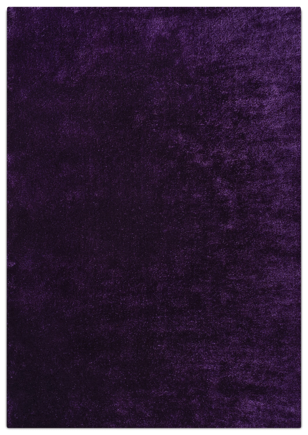 Accent and Occasional Furniture - Daisy 5' X 8' Area Rug - Purple