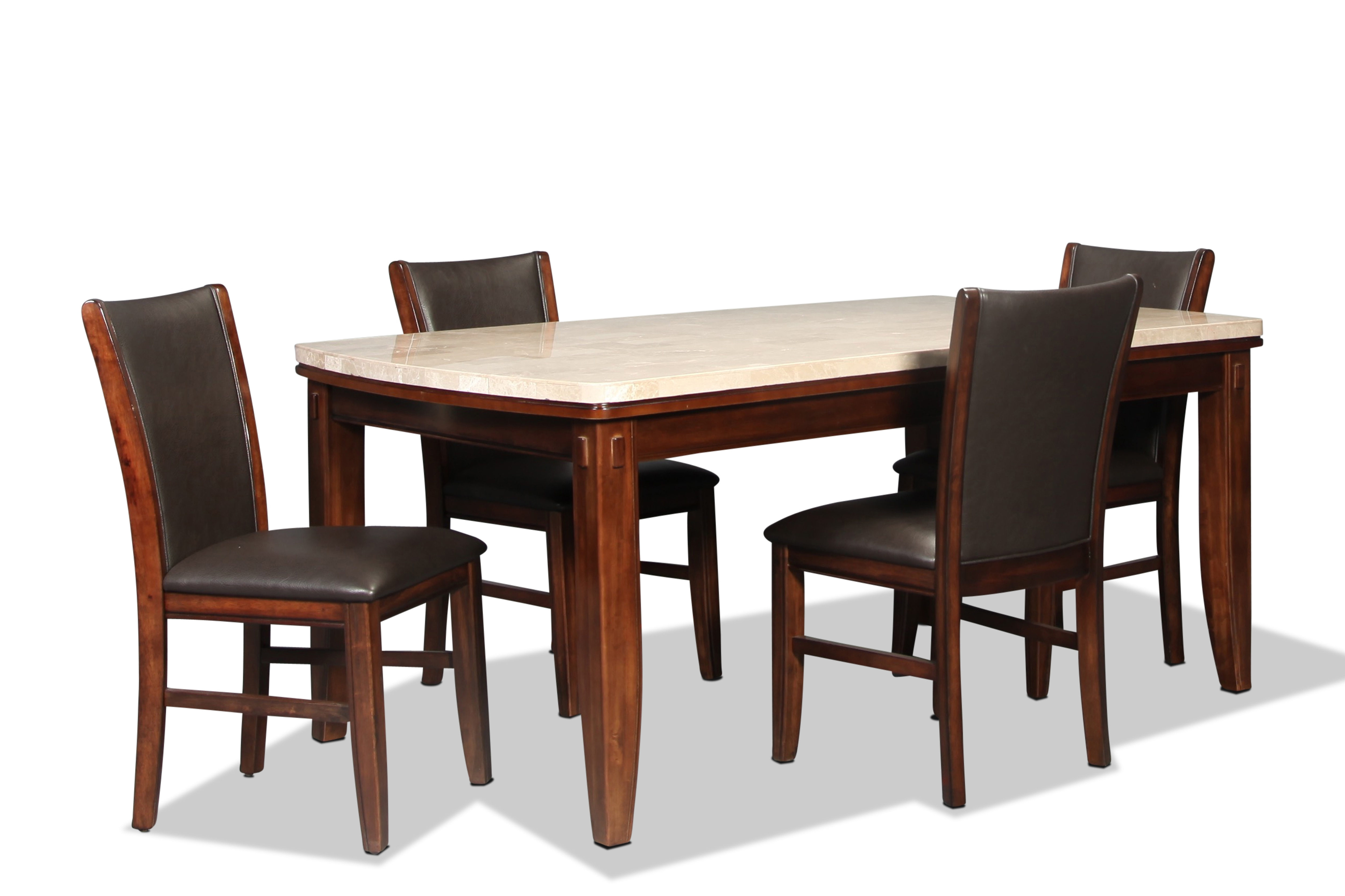 Ravenna Table and 4 Side Chairs