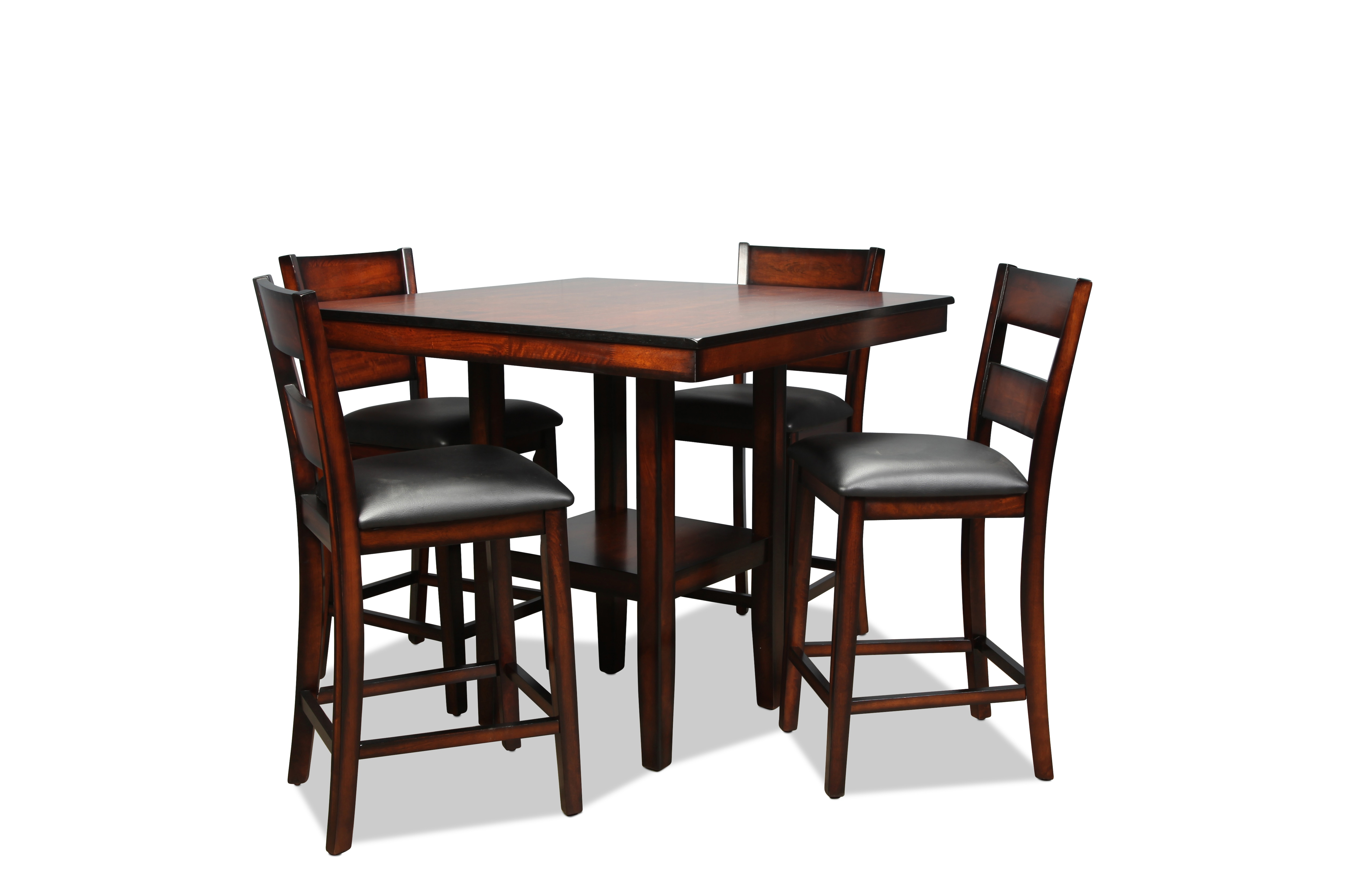 Balfour Counter-Height Table and 4 Barstools