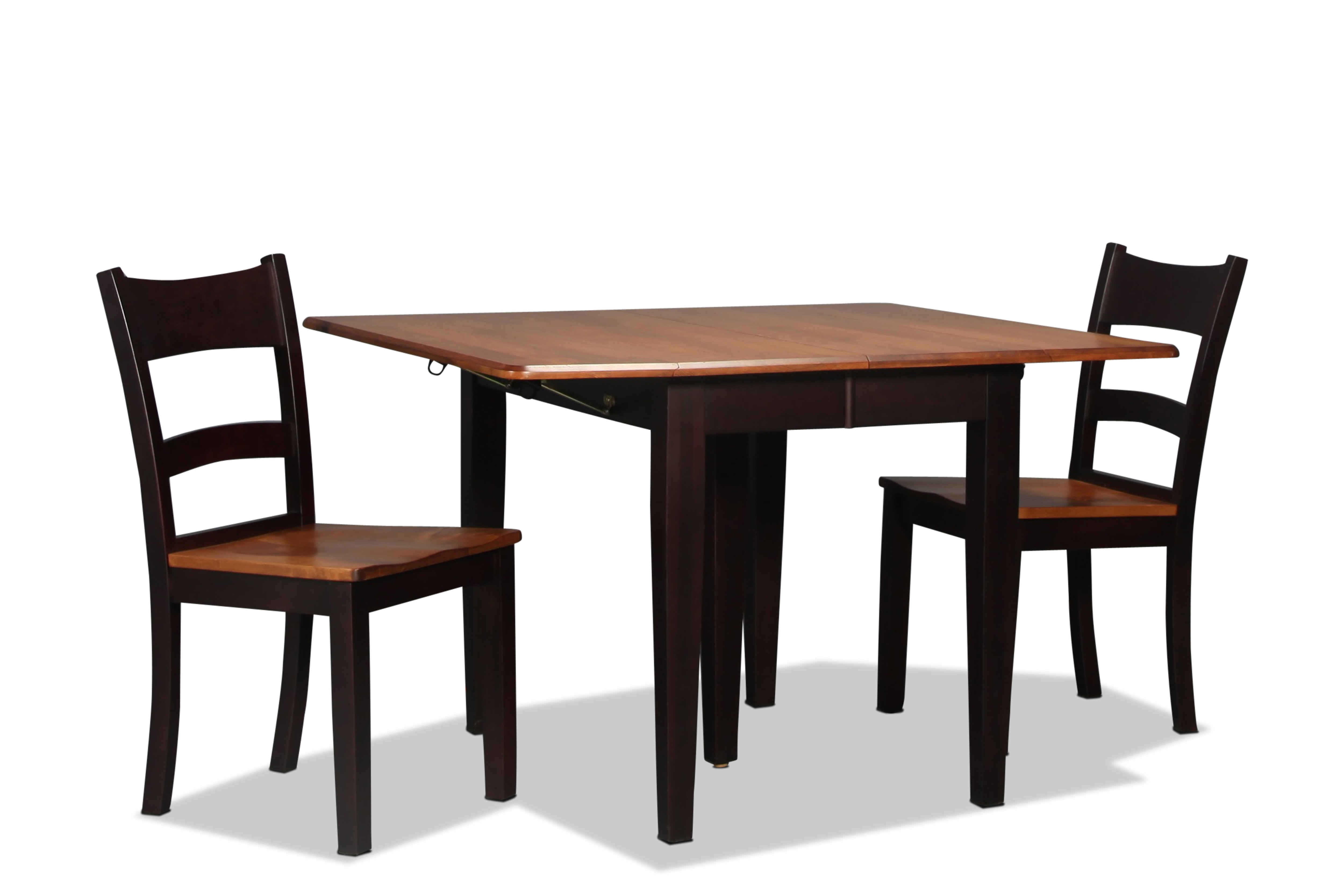 Saber Table and 2 Side Chairs