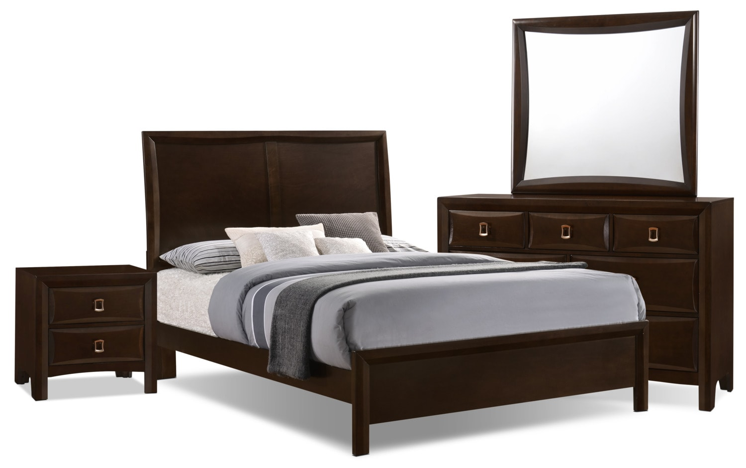 Bella 6-Piece King Panel Bedroom Collection