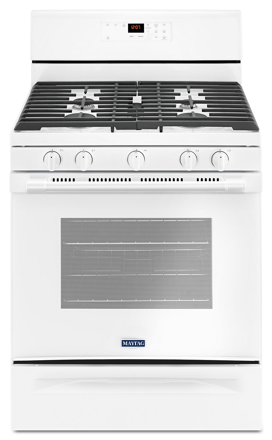 Cooking Products - Maytag 5.0 Cu. Ft. Freestanding Gas Range with Oval Burner – MGR6600FW