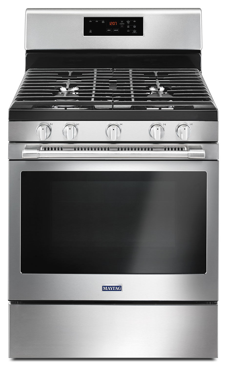 Maytag 5.0 Cu. Ft. Freestanding Gas Range with Oval Burner – MGR6600FZ