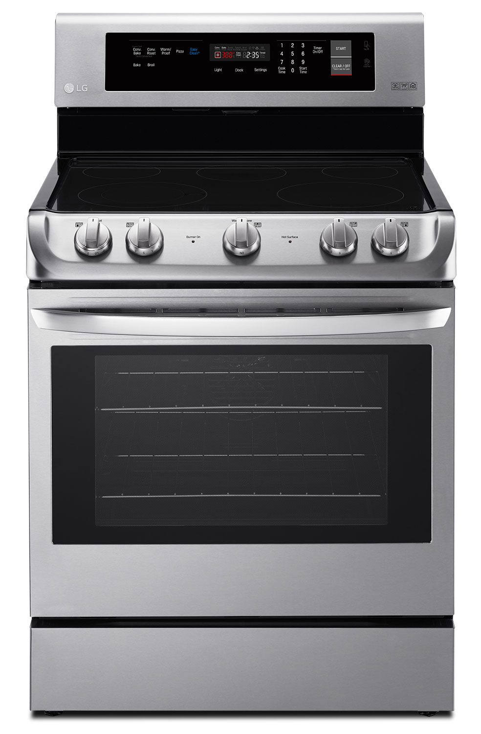 LG 6.3 Cu. Ft. Electric Freestanding Range with ProBake Convection™ – LRE4211ST