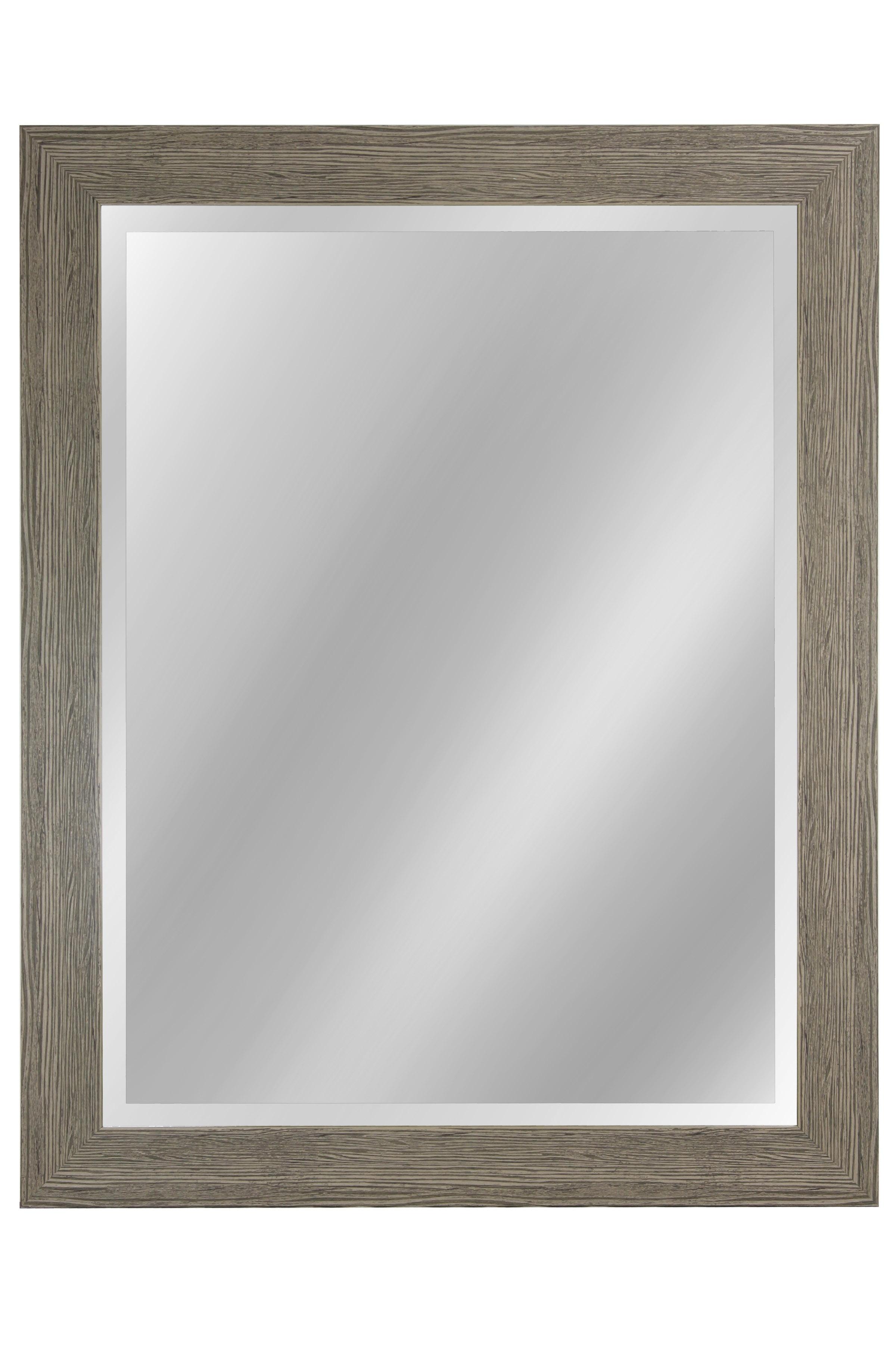"42"" Beveled Mirror - Weathered Gray"
