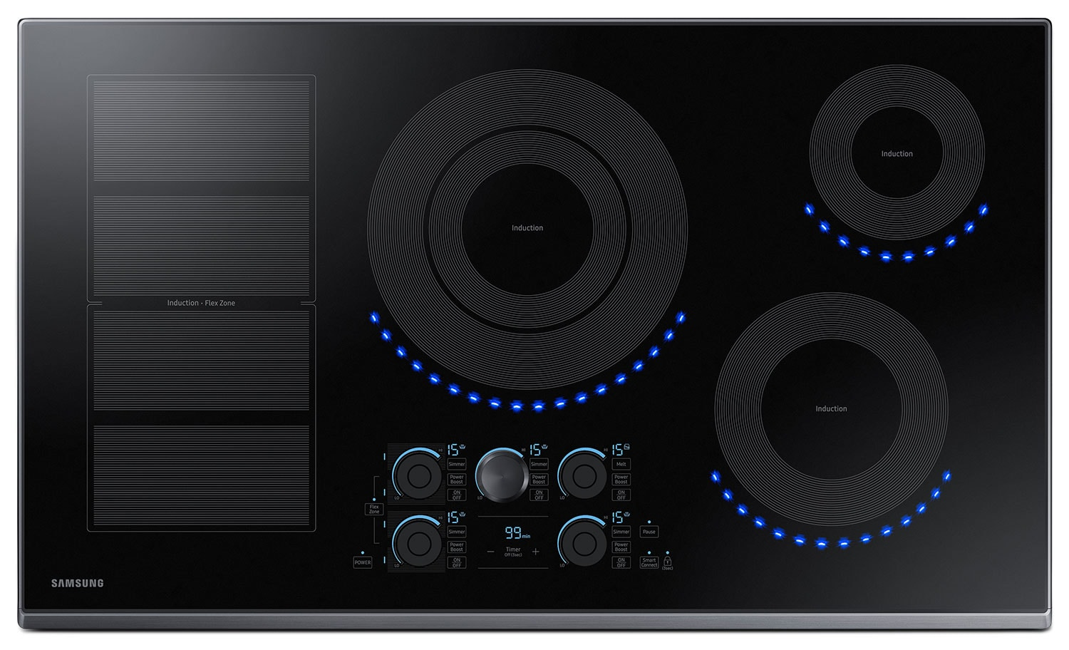 Samsung 36 electric induction cooktop nz36k7880ug aa Samsung induction range