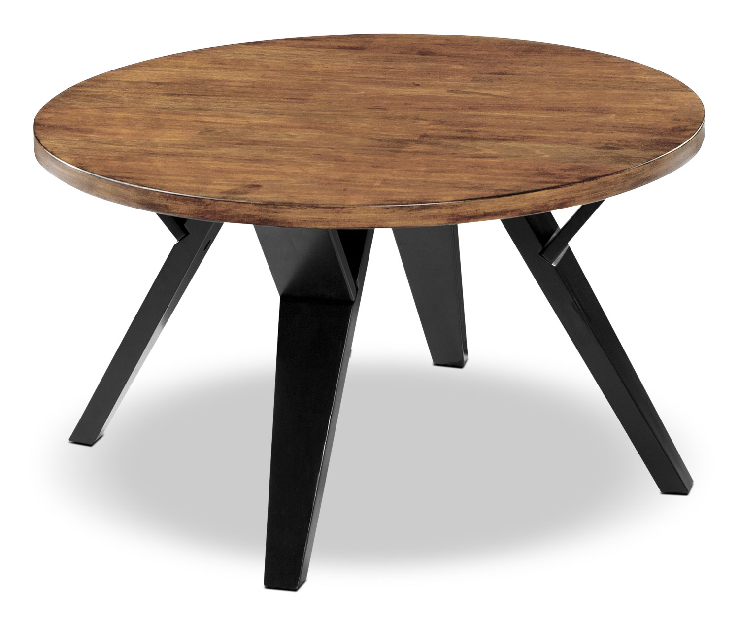 Ingel 3 piece coffee and two end tables package the brick for Coffee tables 3 piece