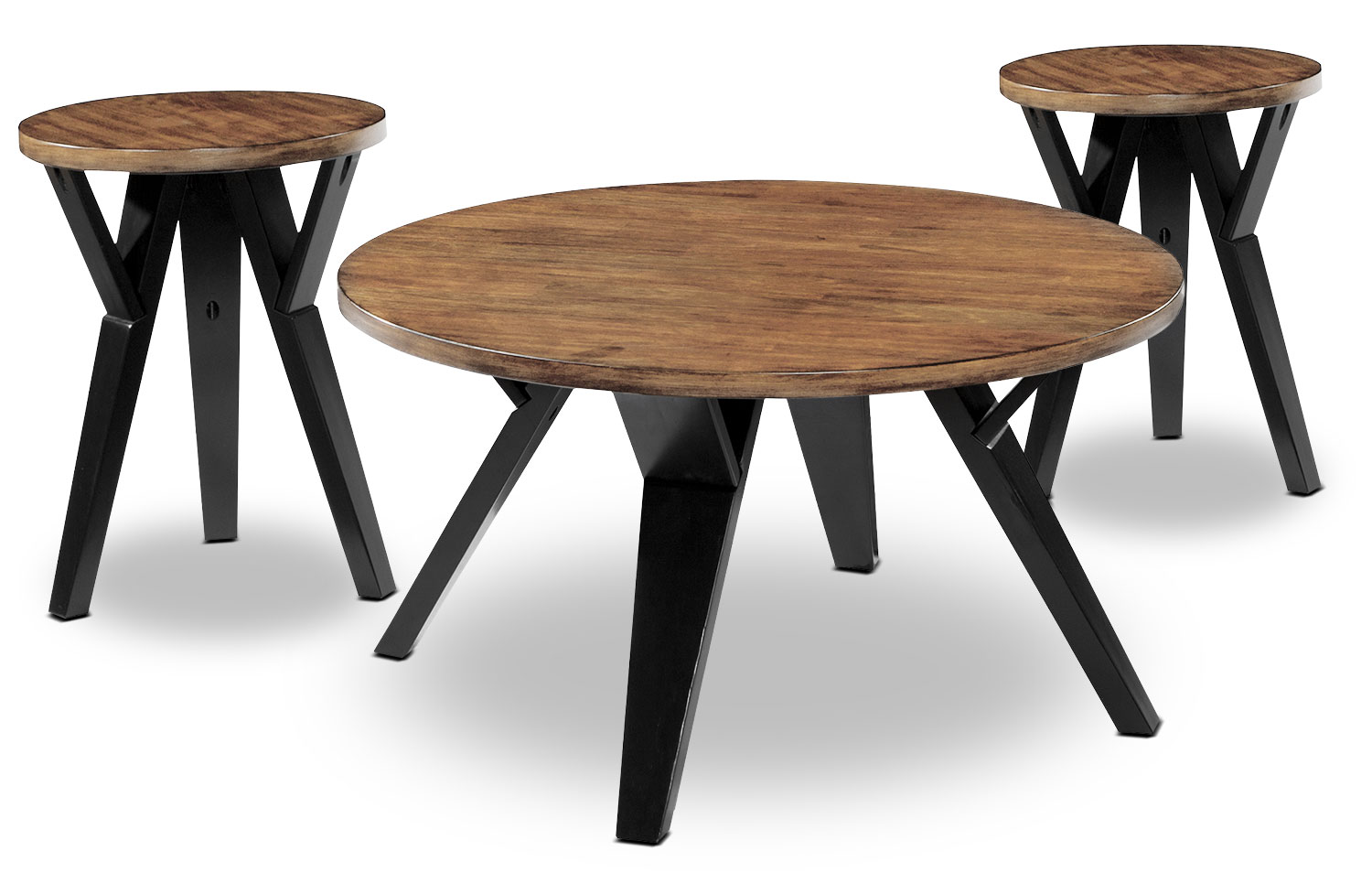 Ingel 3-Piece Coffee and Two End Tables Package
