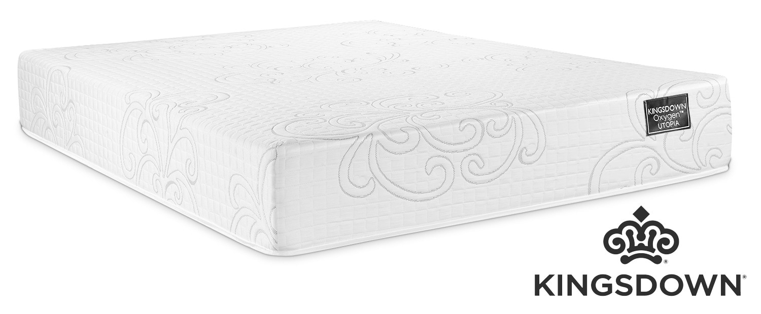 Kingsdown Utopia Hybrid Cushion Firm Twin Mattress