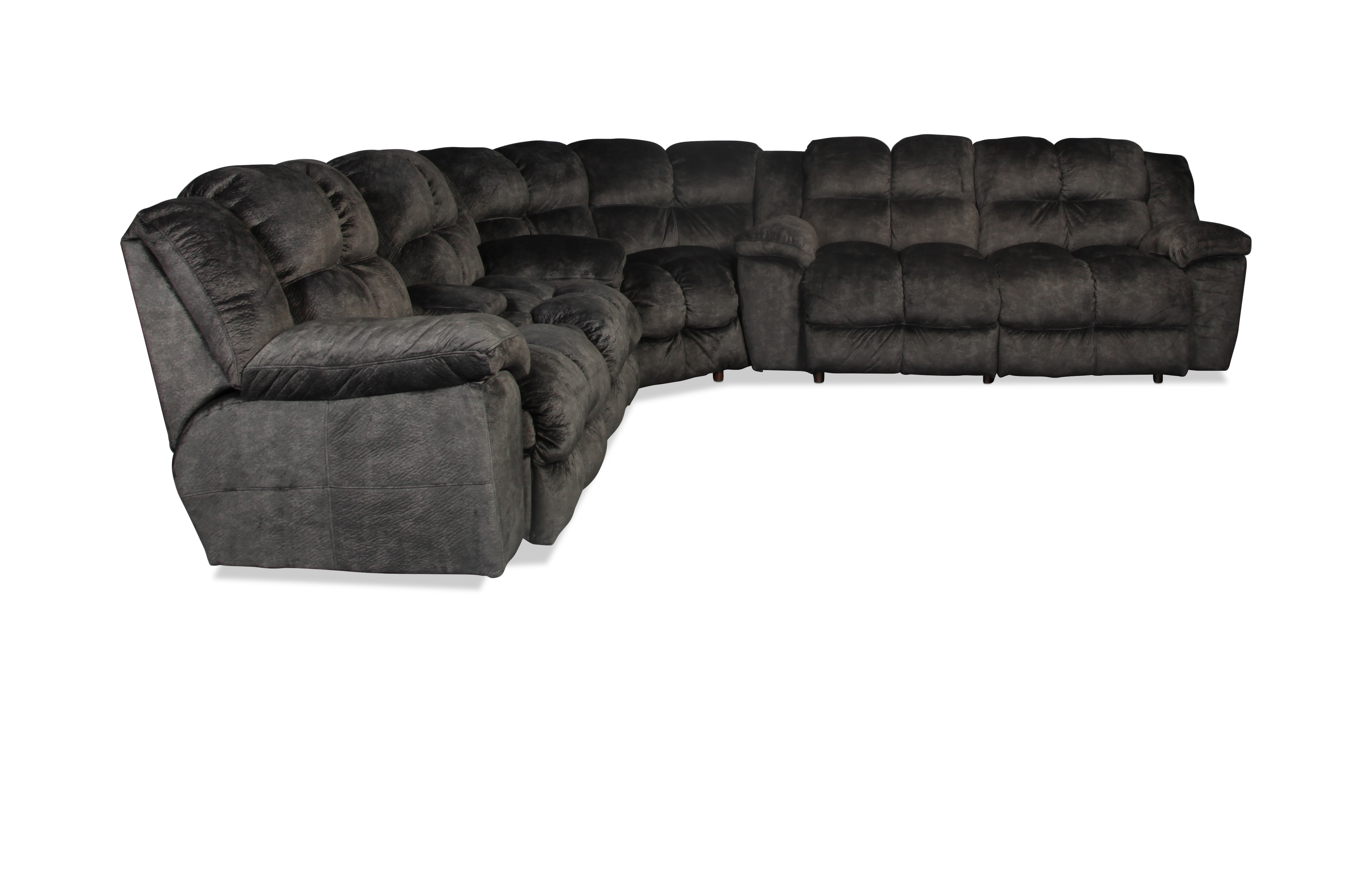Braylon 3 Piece Sectional - Charcoal