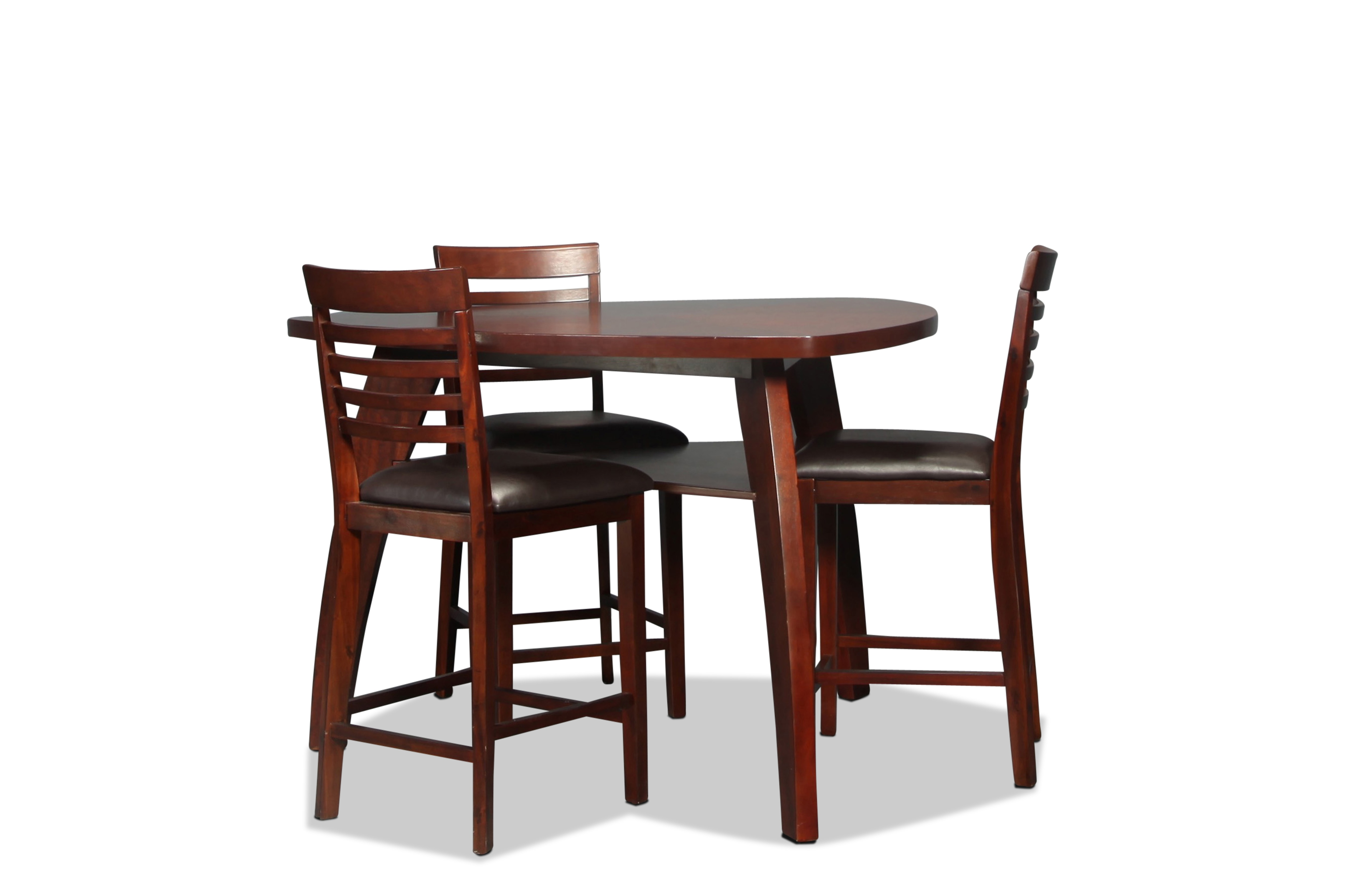 Astoria counter height 4 piece dinette levin furniture for 4 piece dining room set